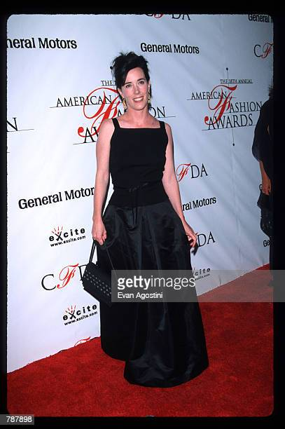 Designer Kate Spade attends the 18th Annual American Fashion Awards June 2 1999 in New York City The awards organized by the Council of Fashion...