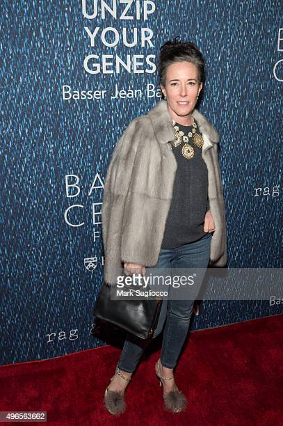 Designer Kate Spade attends the 2015 Basser Center For BRCA Benefit at Cipriani Wall Street on November 10 2015 in New York City