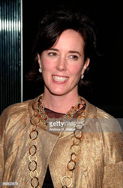 Designer Kate Spade attends the Annual Benefit for the Children's Advocacy Center on November 29 2005 in New York City