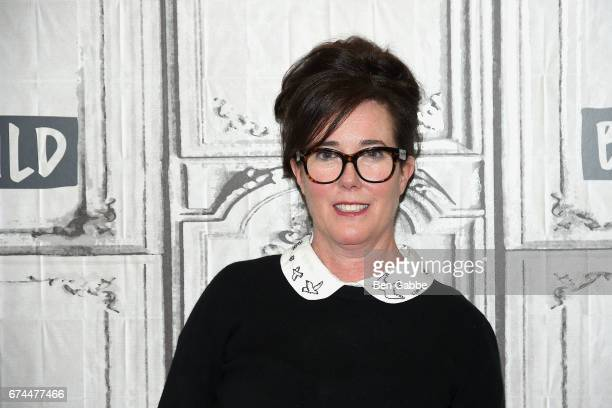 Designer Kate Spade attends the Build Series at Build Studio on April 28 2017 in New York City