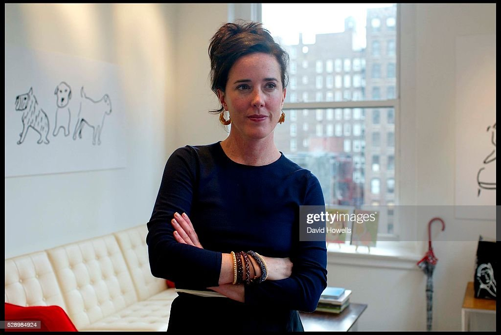 USA - Portraiture - Kate Spade : News Photo