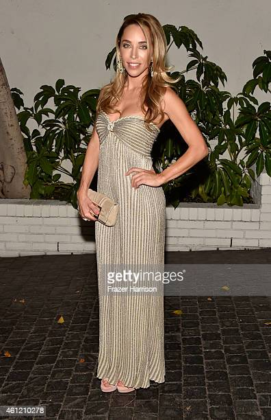 Designer Katia Francesconi attends the W Magazine celebration of the 'Best Performances' Portfolio and The Golden Globes with Cadillac and Dom...