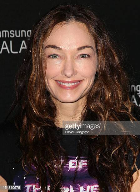 Designer Kelly Wearstler attends Samsung Mobile's celebration of the launch of the Samsung Galaxy Note II at a private residence on October 25 2012...