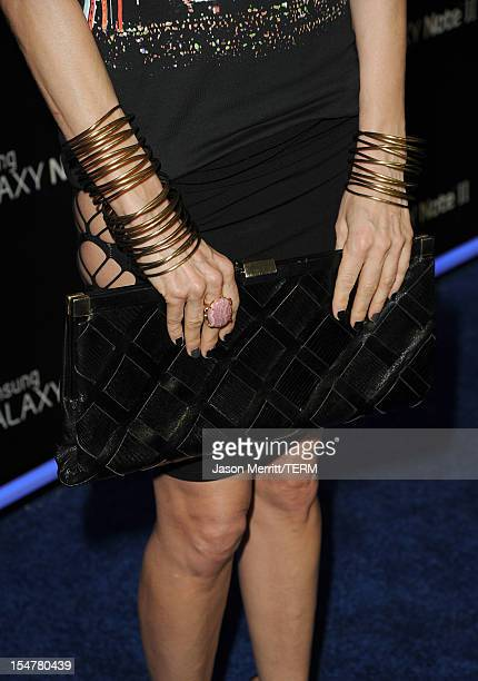 Designer Kelly Wearstler attends the Samsung Galaxy Note II Beverly Hills Launch Party on October 25 2012 in Los Angeles California
