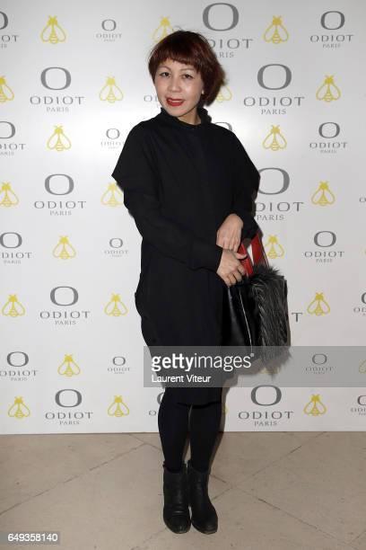 Designer Ken Okada attends Dessiner L'Or et L'Argent Odiot Orfevre Exhibition Launch at Musee Des Arts Decoratifs on March 7 2017 in Paris France