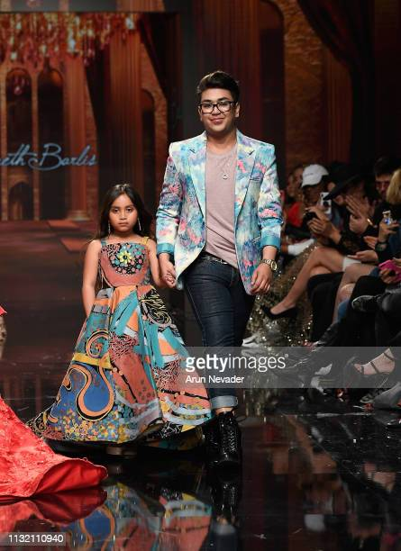 Designer Kenneth Barlis walks the runway at Los Angeles Fashion Week FW/19 Powered by Art Hearts Fashion at The Majestic Downtown on March 22 2019 in...