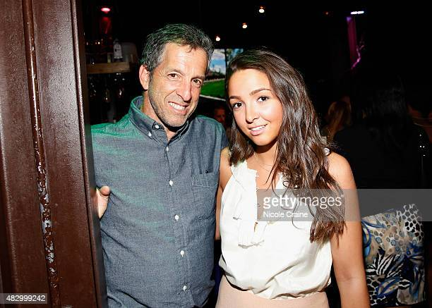 Designer Kenneth Cole and Catie Cole attend HELP USA Summer In The City Party at The DL on August 4 2015 in New York City