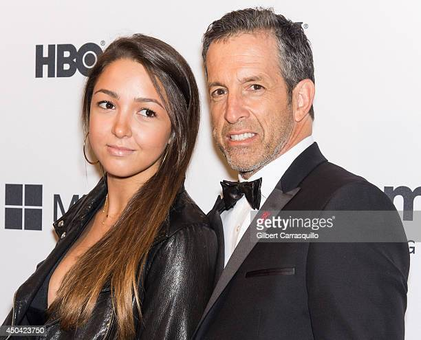 Designer Kenneth Cole and daughter Catie Cole attend the amfAR Inspiration Gala New York 2014 at The Plaza Hotel on June 10 2014 in New York City