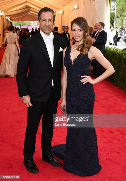 Designer Kenneth Cole and Emily Cole attend the Charles James Beyond Fashion Costume Institute Gala at the Metropolitan Museum of Art on May 5 2014...
