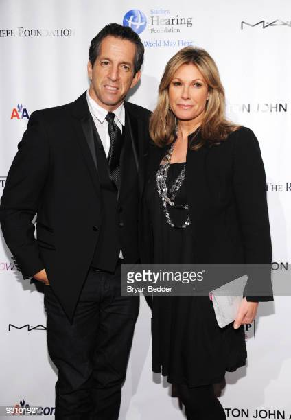 Designer Kenneth Cole and Maria Cuomo attend the 8th Annual Elton John AIDS Foundation's An Enduring Vision benefit at Cipriani Wall Street on...