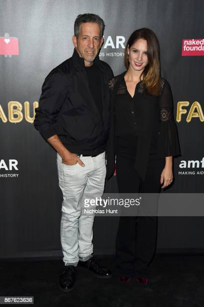 Designer Kenneth Cole and Maria Cuomo Cole attend the 2017 amfAR The Naked Heart Foundation Fabulous Fund Fair at Skylight Clarkson Sq on October 28...