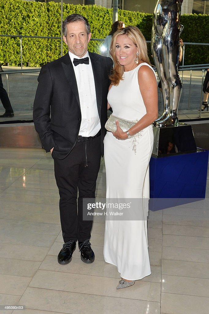 Designer Kenneth Cole and Marigay McKee Cole attend the 2014 CFDA fashion awards at Alice Tully Hall, Lincoln Center on June 2, 2014 in New York City.