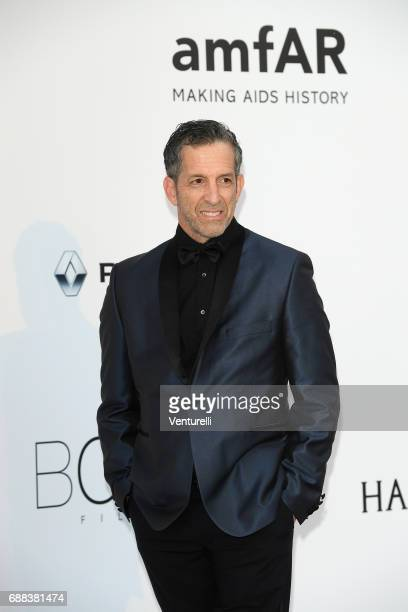 Designer Kenneth Cole arrives at the amfAR Gala Cannes 2017 at Hotel du CapEdenRoc on May 25 2017 in Cap d'Antibes France