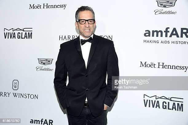 Designer Kenneth Cole attends amfAR's Inspiration Gala at Milk Studios on October 27 2016 in Hollywood California