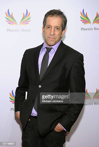 Designer Kenneth Cole attends the 2011 Fashion Awards Dinner to benefit Phoenix House at Pier Sixty at Chelsea Piers on November 2 2011 in New York...