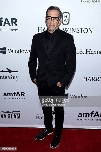 Designer Kenneth Cole attends the 7th Annual amfAR Inspiration Gala at Skylight at Moynihan Station on June 9 2016 in New York City