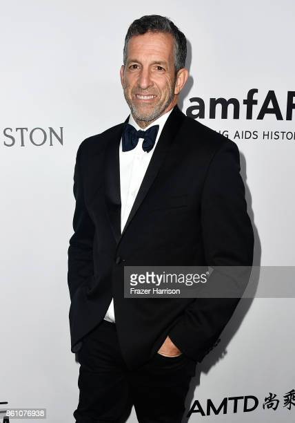 Designer Kenneth Cole attends the amfAR Gala at Ron Burkle's Green Acres Estate on October 13 2017 in Beverly Hills California