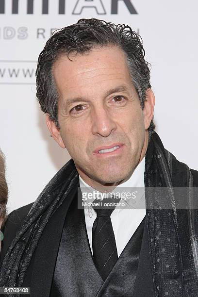 Designer Kenneth Cole attends the amfAR New York Gala at Cipriani on 42nd Street to kick off Fall 2009 Fashion Week on February 12 2009 in New York...
