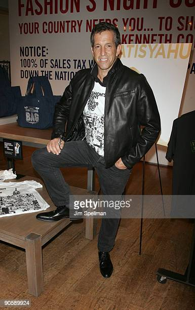 Designer Kenneth Cole attends the Kenneth Cole celebration for Fashion's Night Out at Kenneth Cole New York Rockefeller Center Store on September 10...