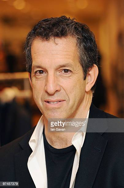Designer Kenneth Cole makes a personal appearance at the House of Fraser department store Oxford Street on March 5 2010 in London England
