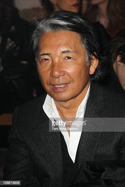 Designer Kenzo attends the Moncler Ready to Wear Autumn/Winter 2011/2012 show during Paris Fashion Week at Couvent des Cordeliers on March 8 2011 in...