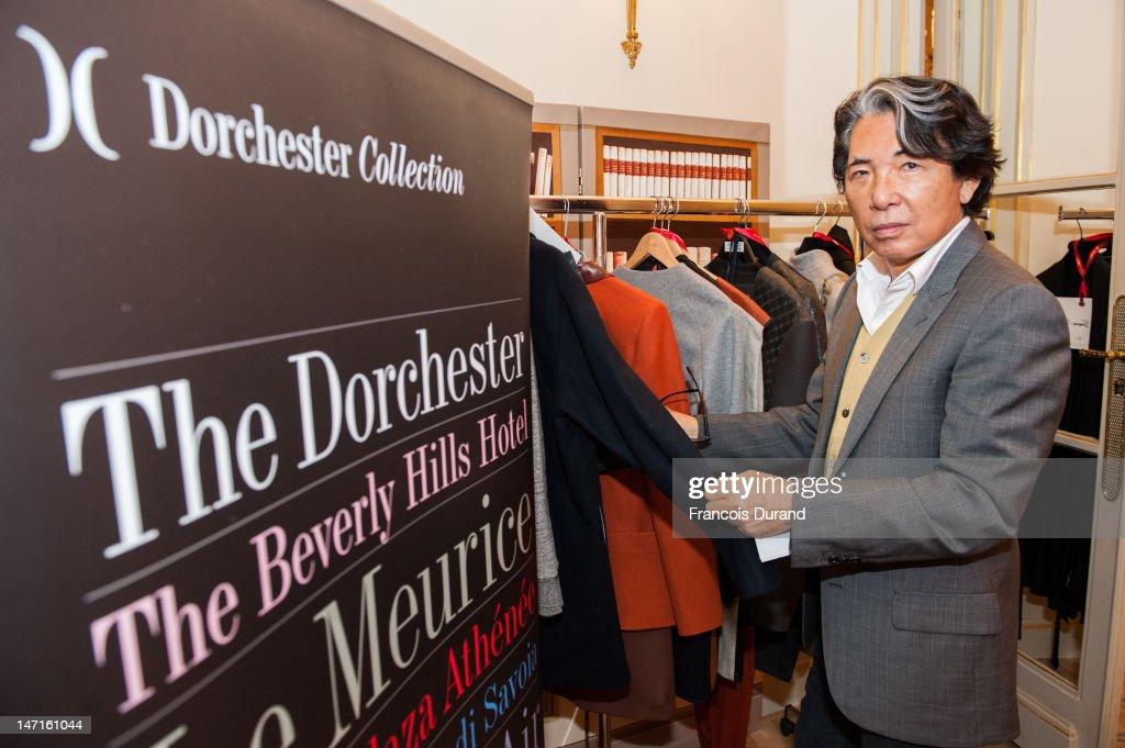 2012 Dorchester Collection Fashion Prize Shortlist Session : News Photo