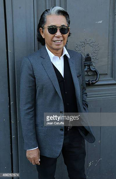 Designer Kenzo Takada better known as Kenzo attends Tsumori Chisato fashion show at Palais des Beaux Arts as part of the Paris Fashion Week...