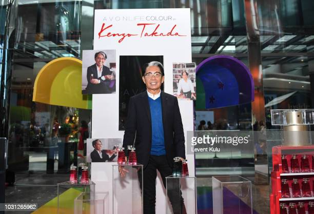 a49e6f9b3 Designer Kenzo Takada is seen at the MercedesBenz Istanbul Fashion Week at  Zorlu Center on September