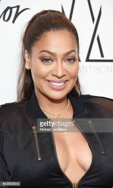 Designer La La Anthony launches the La La Anthony Denim Collection at Lord Taylor on September 6 2017 in New York City