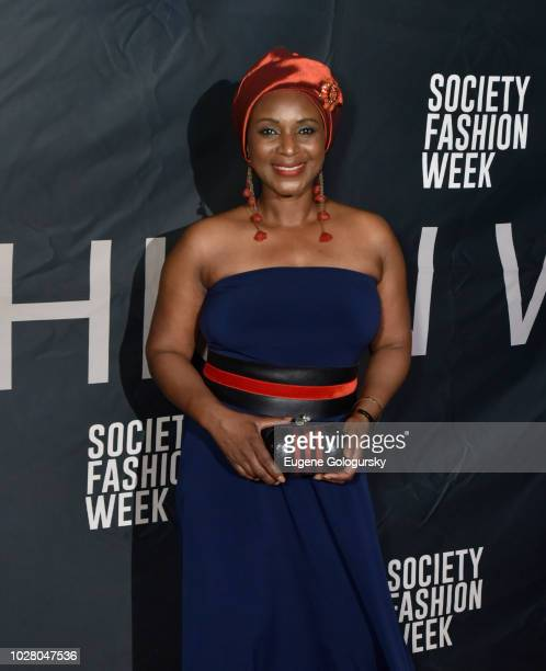 Designer Lady Mariama attends Society NYFW Kick Off Party on September 6 2018 in New York City