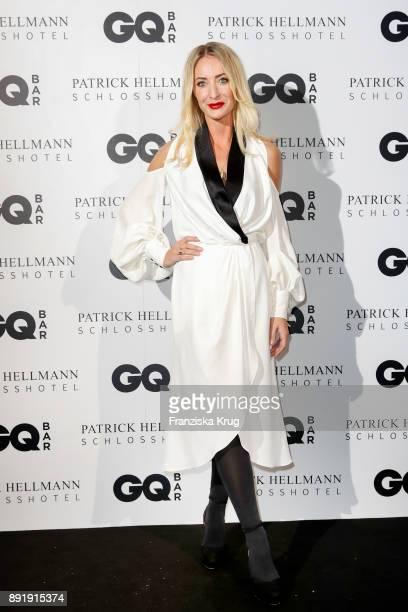 Designer Lana Mueller attends the GQ Bar opening at Patrick Hellmann Schlosshotel on December 13 2017 in Berlin Germany
