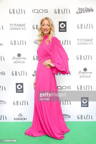 Designer Lana Mueller the Grazia Fashion Night at Titanic Hotel on July 3 2019 in Berlin Germany