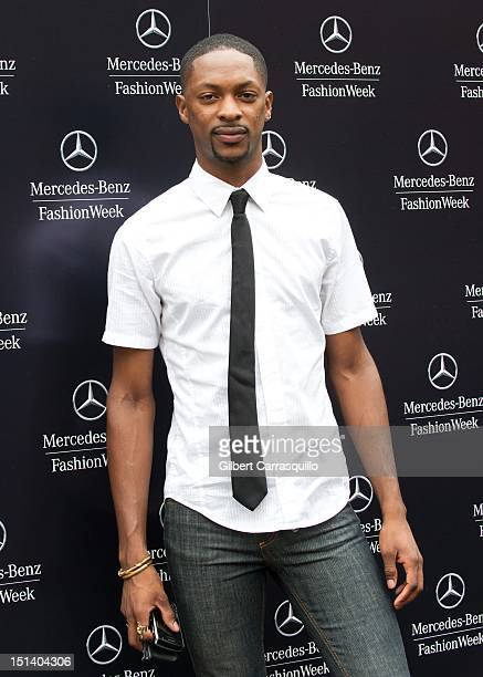 Designer LaQuan Smith is seen around Lincoln Center during Spring 2013 MercedesBenz Fashion Week on September 6 2012 in New York City