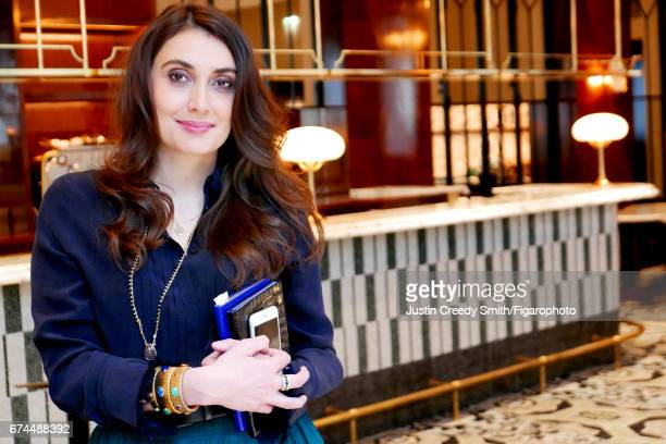 Designer Laura Gonzalez is photographed for Madame Figaro on February 27, 2017 in Paris, France. PUBLISHED IMAGE. CREDIT MUST READ: Justin Creedy...