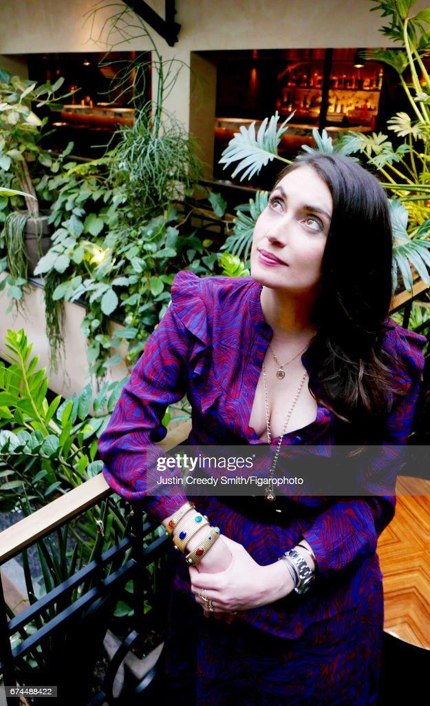 Laura Gonzales, Madame Figaro, April 21, 2017 : News Photo