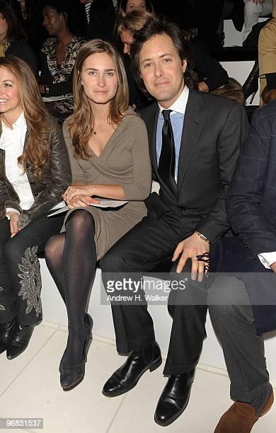 Designer Lauren Bush And David Lauren Attend The Ralph Lauren Collection Fall 2010 Fashion Show During