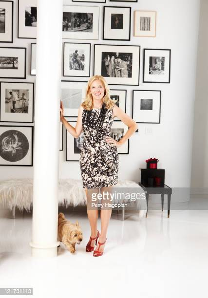 Designer Lela Rose is photographed for Town Country Magazine on August 1 2010 in New York City PUBLISHED IMAGE