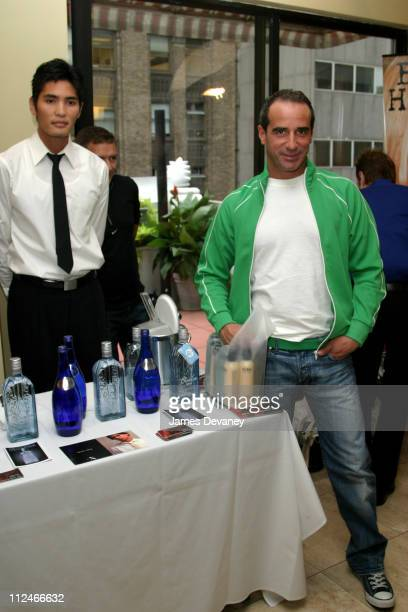 Designer Lloyd Klein at the Blue Ice Vodka Booth during Beyond The Runway An Oasis of Style at Dylan Hotel in New York City New York United States