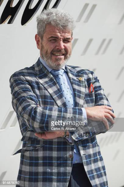 Designer Lorenzo Caprile attends the Gold Medals of Merit in Fine Arts 2016 ceremony at the Pompidou Center on February 6 2018 in Malaga Spain