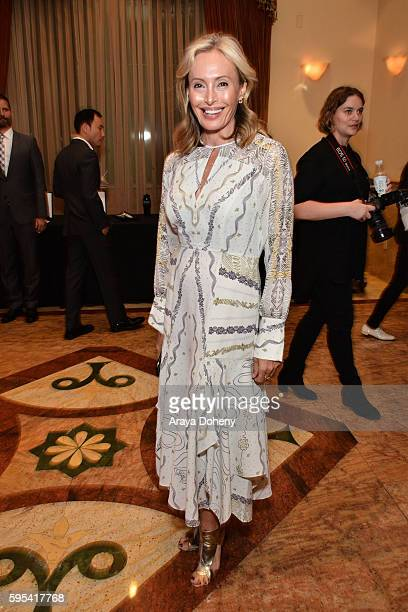 Designer Lubov Azria attends the Inaugural Fashion Show Benefiting MakeAWish with BCBGMAXAZRIA and Celebrity Host Brad Goreski at The Taglyan Complex...