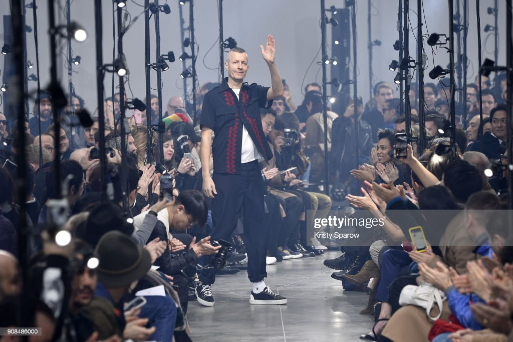 Lanvin : Runway - Paris Fashion Week - Menswear F/W 2018-2019
