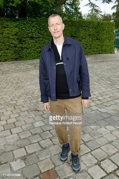 """Designer Lucas Ossendrijver attends the """"Visible Invisible"""" Exhibition at Chateau De Versailles on May 12, 2019 in Versailles, France."""