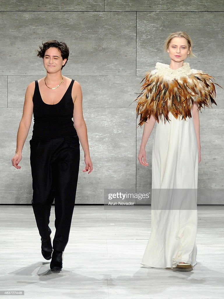Lupe Gajardo - Runway - Mercedes-Benz Fashion Week Fall 2015 : News Photo