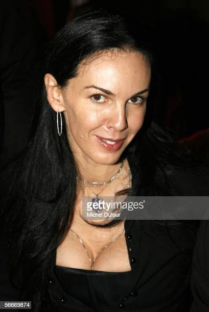 Designer L'wren Scottattends the Sidaction Party raising funds in support of AIDS during Paris Fashion Week Spring/Summer 2006 at Pavillon...