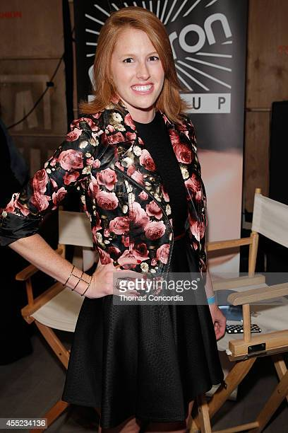 Designer Madison Geroski attends ELLE Runway Collection By Kohl's STYLE360 Spring/Summer 2015 Collections on September 10 2014 in New York City