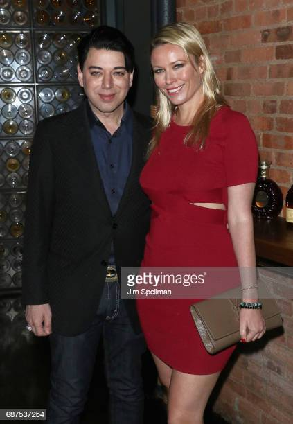 Designer Malan Breton and actress Kiera Chaplin attend the screening after party for 'Pirates Of The Caribbean Dead Men Tell No Tales' hosted by The...