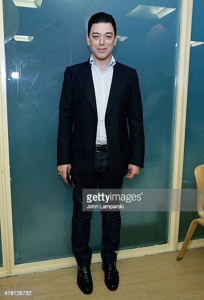 Designer Malan Breton attendes 5th Annual Broadway Sings For Pride event at JCC Manhattan on June 22 2015 in New York City