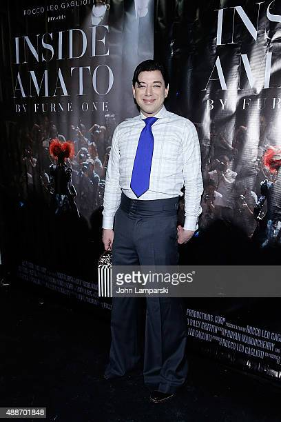 Designer Malan Breton attends 'Inside Amato' New York premiere at Liberty Theater on September 16 2015 in New York City