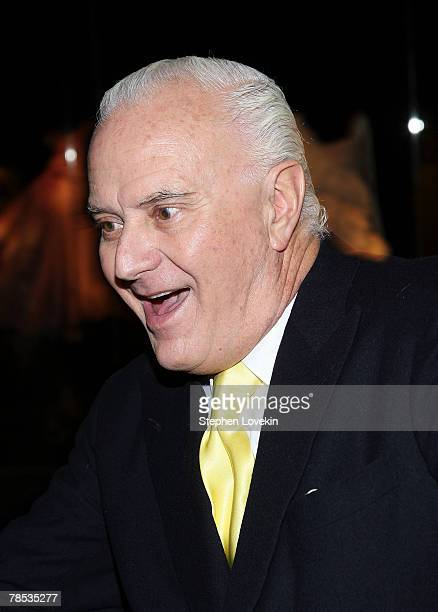 Designer Manolo Blahnik attends the Blogmode Addressing Fashion reception at The Metropolitan Museum of Art on December 17 2007 in New York City