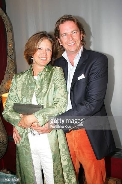 Designer Marc Anthony and his wife Dodo At The Polo Players Night In König Cie Pokal In The Au Quai bar in Hamburg